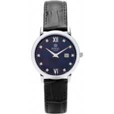 Royal London - Ladies Watch with MOP Black Dial